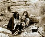 Apache-Women-Campfire-Cooking